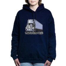 tractor trailer.png Hooded Sweatshirt