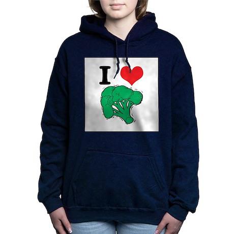 3-broccoli.jpg Hooded Sweatshirt