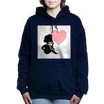 thinking of love.jpg Hooded Sweatshirt