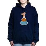 bunny on egg.png Hooded Sweatshirt