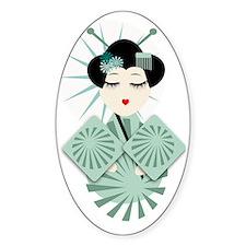 Geisha Decal