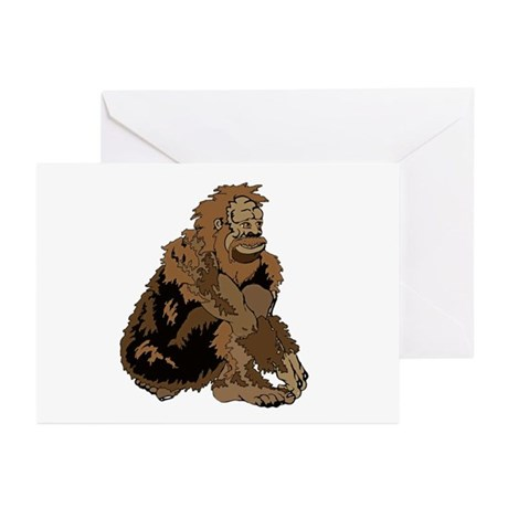 Bigfoot is Squatchin you Greeting Cards (Pk of 10)
