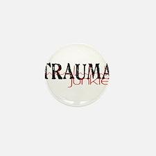 TRAUMAjunkie-2 Mini Button (10 pack)
