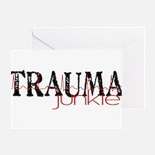 TRAUMAjunkie-2 Greeting Cards