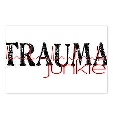 TRAUMAjunkie-2 Postcards (Package of 8)