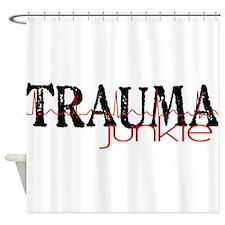 TRAUMAjunkie-2 Shower Curtain
