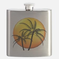 PALM TREE DUO Flask