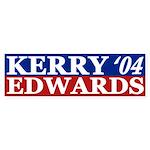 Kerry-Edwards 2004 Bumper Sticker
