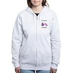 Pink Tractor Junkie Women's Zip Hoodie
