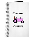 Pink Tractor Junkie Journal