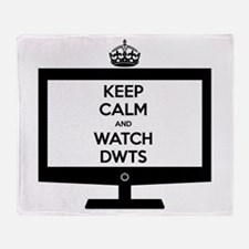 Keep Calm and Watch DWTS Stadium Blanket