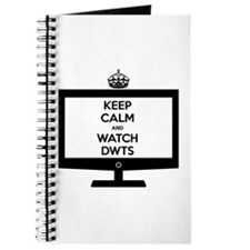 Keep Calm and Watch DWTS Journal