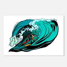 SURFIN' Postcards (Package of 8)