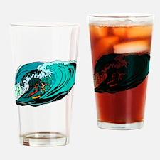 SURFIN' Drinking Glass
