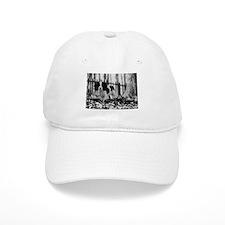 Unique Black and white cavalier Baseball Cap