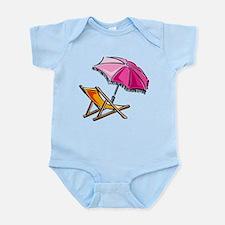 BEACH CHAIR [3] Infant Bodysuit