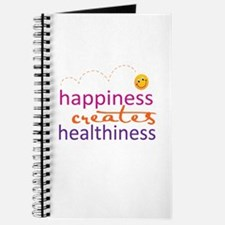 Happiness creates Healthiness Journal