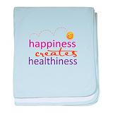 Happiness creates healthiness Blanket