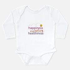 Happiness creates Healthiness Body Suit