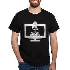 Keep Calm and Watch Star Trek T-Shirt