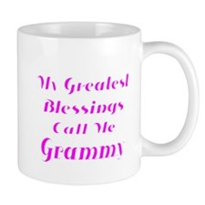 My Greatest Blessings call me Grammy Mugs