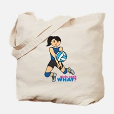 Volleyball Player Medium Tote Bag
