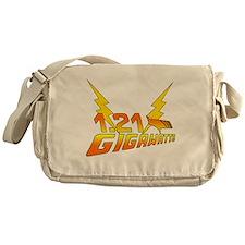 1.21 Gigawatts Back to the Future Messenger Bag
