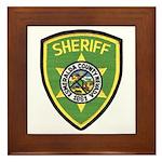 Esmeralda County Sheriff Framed Tile