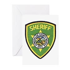 Esmeralda County Sheriff Greeting Cards (Package o