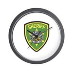 Esmeralda County Sheriff Wall Clock