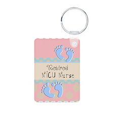 Retired NICU Nurse Keychains