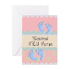 Retired NICU Nurse Greeting Card