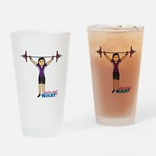 Weight Lifter Medium Drinking Glass