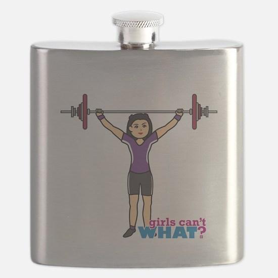 Weight Lifter Medium Flask