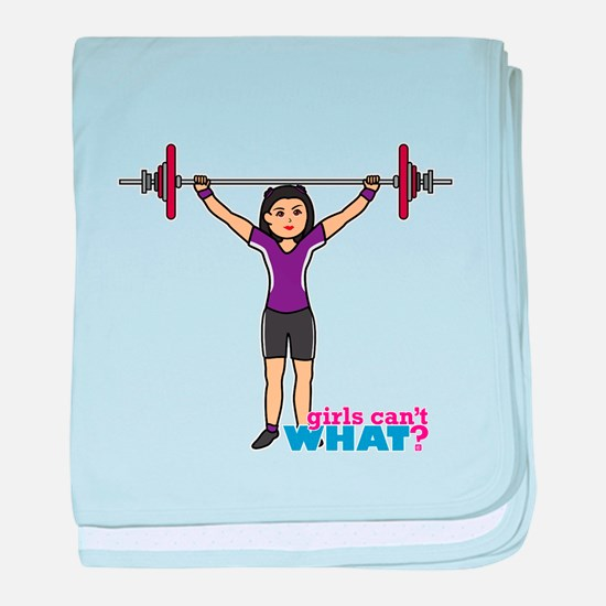 Weight Lifter Medium baby blanket