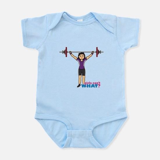 Weight Lifter Medium Infant Bodysuit