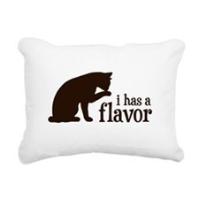 i has a flavor Kitty Cat Rectangular Canvas Pillow
