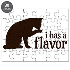 i has a flavor Kitty Cat Puzzle