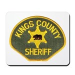 Kings County Sheriff Mousepad