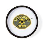Kings County Sheriff Wall Clock