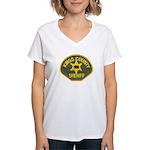 Kings County Sheriff Women's V-Neck T-Shirt