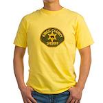 Kings County Sheriff Yellow T-Shirt