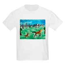 Horsin' Around Kids T-Shirt