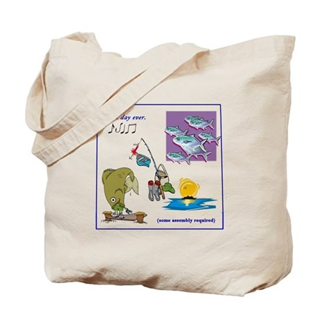 Best Day Ever ... Fishing Funday! Tote Bag