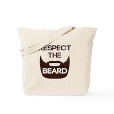 Respect The Beard Tote Bag