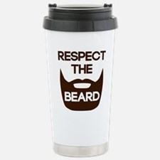 Respect The Beard Travel Mug