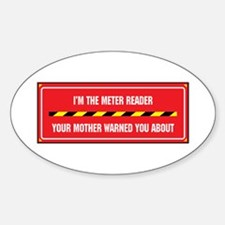 I'm the Reader Oval Decal