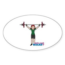 Weight Lifter Light/Red Decal