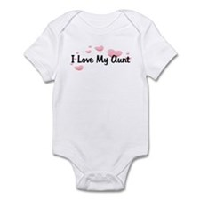Love Aunt Pink Hearts Baby/Toddler bodysuits