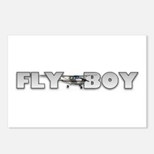 Fly Boy Aviation Postcards (Package of 8)